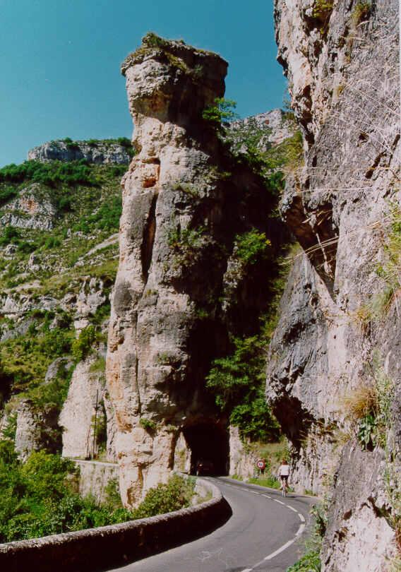 Gorges Du Tarn. Frankreich - Gorges du Tarn